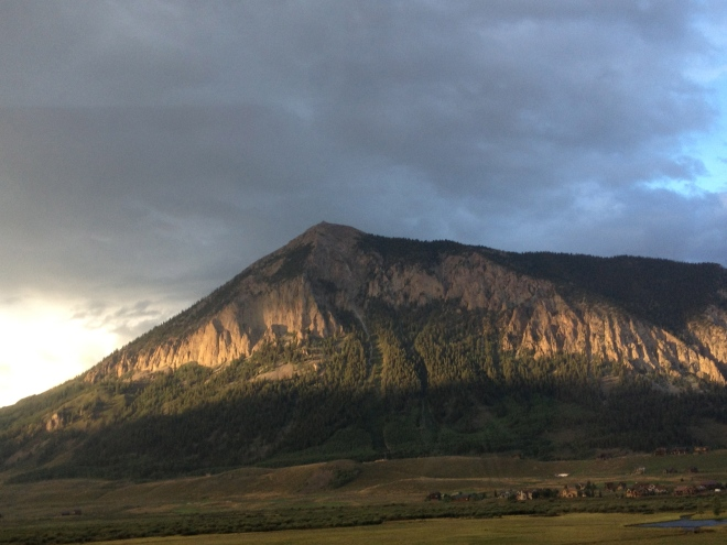 South face of Mt. Crested Butte.